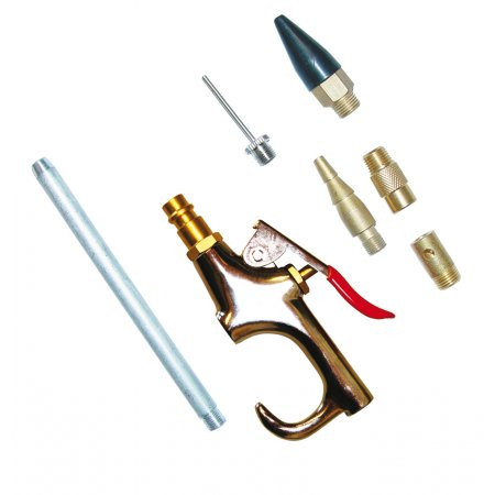 Ofukovací pistole, 7-dílná sada Güde