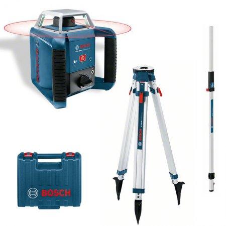 Rotační laser Bosch GRL 400H Professional set + BT 170 HD + GR240
