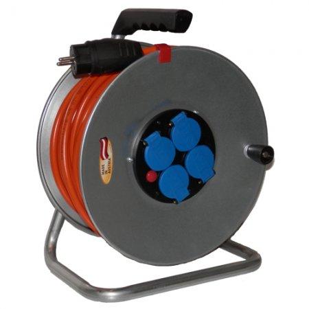 Prodlužovací kabel na bubnu 40m 230V, Brennenstuhl