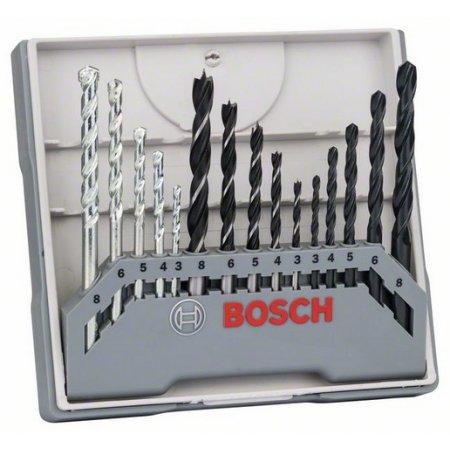 15dílná smíšená sada vrtáků 3-8mm, Bosch