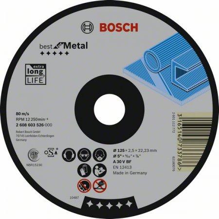 Kotouč řezný prolomený Bosch, Best for Metal