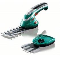 Aku nůžky na keře a trávu Bosch ISIO 3 set 2 lišty 0600833102
