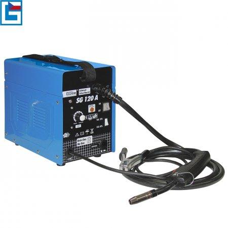 Svářečka SG 120 A s plněnou drátovou elektrodou Güde
