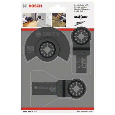 Sada ponorných listů 3ks Bosch pro GOF/PMF