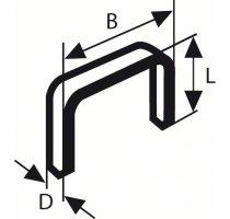 Sponky do sponkovačky typ 53, Bosch