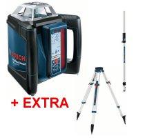 Laser rotační Bosch GRL 500 HV Professional + BT 170 + GR 240 06159940EF