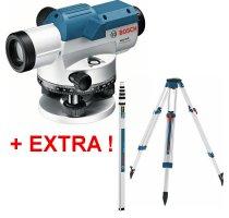 Nivelační přístroj Bosch GOL 20 D + BT 160 + GR 500 Professional 061599404R