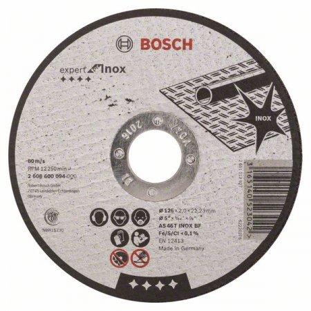 Kotouč řezný rovný Bosch, Expert for Inox