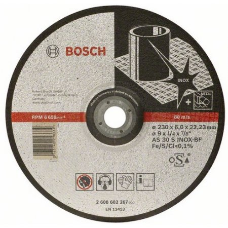 Kotouč brusný Bosch, Expert for Inox