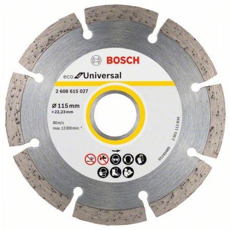Diamantový kotouč Bosch, Eco Universal