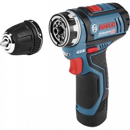 Aku vrtačka Bosch GSR 12V-15 FC Flex Professional 06019F6001