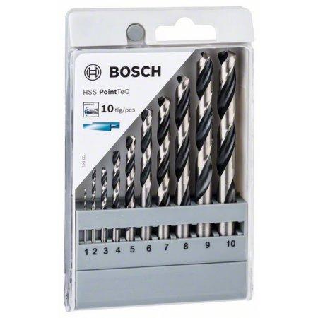 Sada spirálových vrtáků do kovu Bosch HSS PointTeQ