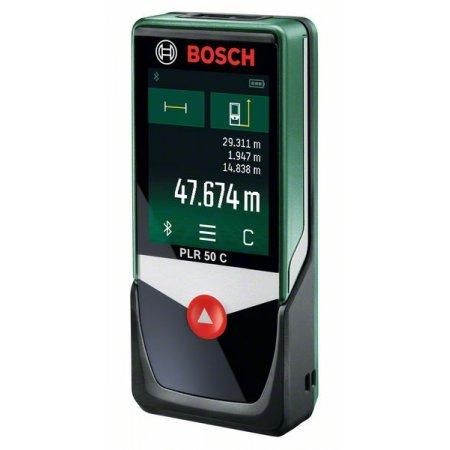 Laserový měřič vzdálenosti Bosch PLR 50C Bluetooth