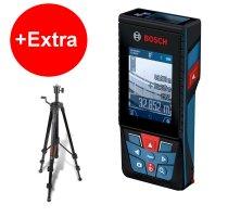 Stavební laser Bosch GLM 120 C Professional + stativ BT 150 0601072F01