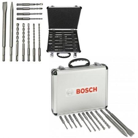 Sada vrtáků a sekáčů Bosch 11dílná MIXED SDS plus-1