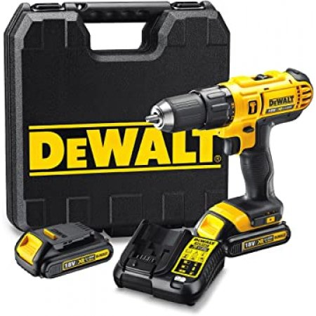 Aku vrtačka DeWALT 18V XR, 2xaku Li-Ion/1,3Ah DCD776C2
