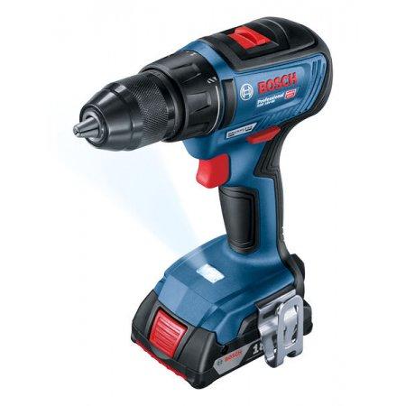 Aku vrtačka Bosch GSR 18V-50 Li-ion Professional, 2x2,0Ah 06019H5000